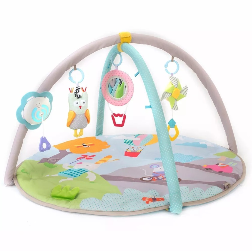 52ec46152 GIMNASIO MANTA MUSICAL KIDDY NATURE BABY GYM